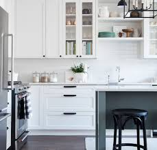 Black Knobs For Kitchen Cabinets Image Result For White Shaker Cabinets Black Hardware Kitchen