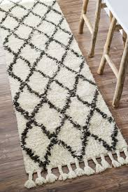 Shaggy Runner Rug Top 42 Supreme Contemporary Runner Rugs For Hallway Pictures Shag