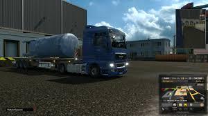 euro truck simulator 2 n12 man tgx xxl transporting reservoirs