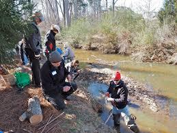 backyard stream repair workshop a success friends of bolin creek
