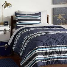 Pottery Barn Teen Comforter Sideline Stripe Value Comforter Set With Sheets Pillowcase