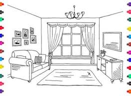 living room drawing how to draw a room with perspective drawing