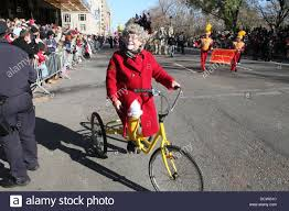 clown on tricycle at macy s 85th annual thanksgiving day parade