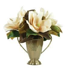 magnolia in bronze cup 17