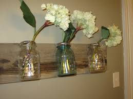 Mason Jar Wall Planter by Mason Jar Wall Vase Tutorial Rural Life Story