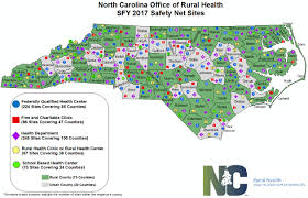 Nc Counties Map Safety Net Resources Nc Department Of Health And Human Services