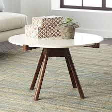 Marble Coffee Table Top Wood And White Marble Coffee Table