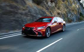lexus ls 2018 lexus ls 500h and ls 500 f sport more is less the car guide