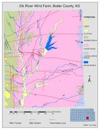 Elk Population Map Elk River Wind Farm