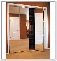 Tri Fold Doors Interior Trifold Closet Doors Mirrored Closet Doors Bifold Interior