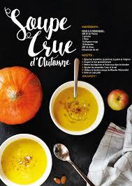 cuisiner cru 70 recettes food soupe crue d automne with mint