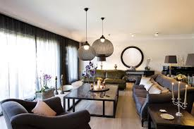 Pendant Lights For Living Room Living Rooms With Pendant Lights Photo Gallery