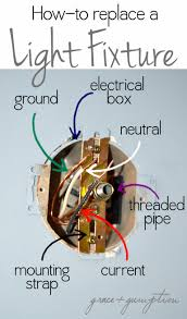 How To Switch Out A Light Fixture How To Replace A Light Fixture By Grace Gumption Home How To S