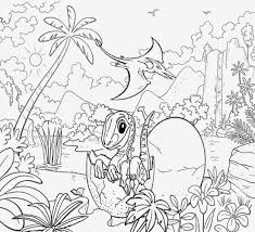 dinosaur landscape coloring page tropical landscape gigantic