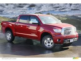 2011 barcelona red metallic toyota tundra limited crewmax 4x4