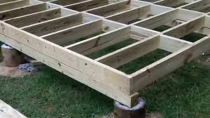 How To Build A Small Backyard Storage Shed by How To Build A Shed Floor Youtube