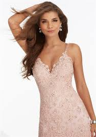 mermaid sweetheart blush pink lace tulle layered prom dress with