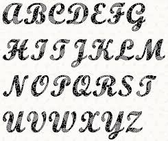 alphabet script 4 inch stencil stencil lettering letter