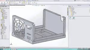 metal sheet case solidworks 3d cad model grabcad cases