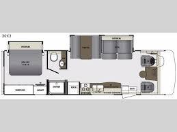 Rv Floor Plans Class A Georgetown 3 Series Motor Home Class A Rv Sales 3 Floorplans