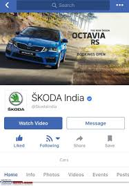scoop skoda octavia vrs spotted in mumbai edit launched at