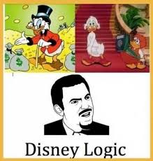 Funny Character Memes - cartoon logic makes no sense ruin my week