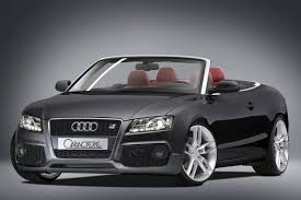 black audi convertible audi a5 convertible by caractere top speed