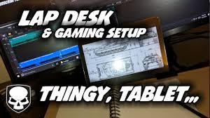 best lap desk for gaming gaming lap desk tablet holder hd youtube