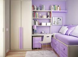 Loft Bed Ideas For Small Rooms Splendid Small Bedroom Decorating Ideas Envisioned Purple Themed