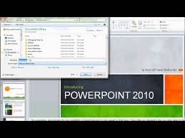 how to make a video using powerpoint 2010 youtube