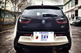 all the cars here are all the cars with the vanity plate bmw across the
