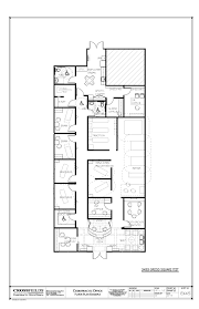 house plan chiropractic office floorplan with meeting room square