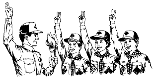 cub scout coloring pages bestofcoloring com