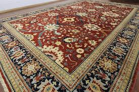 Tribal Persian Rugs by Signed Persian Rug 14 X 20 W1509