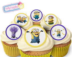 Minion Cake Decorations Minion Cake Topper Etsy