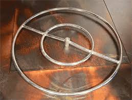 Gas Fire Pit Ring by 24
