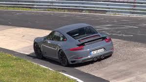 Porsche 911 Gts - spyvideo 2016 porsche 911 carrera gts mkii testing on the