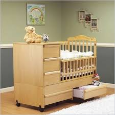 Cribs With Changing Tables Attached Ba Bed With Changing Table Attached Kia Homes Baby Crib With