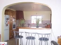 modele de cuisine ouverte sur salle a manger modele de cuisine americaine avec bar argileo