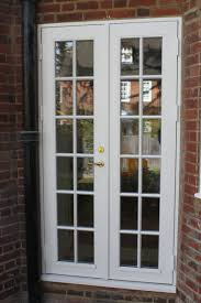 patio doors stunning wooden double glazed patio doors image