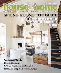 House And Home Magazine by The Vintage Round Top