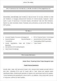 accountant resume format accounting resume templates 16 free sles exles format