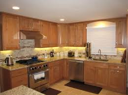brown kitchen cabinets with backsplash 7 kitchen backsplash ideas with maple cabinets that do it right