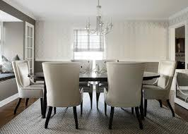 white and gray dining room contemporary dining room benjamin