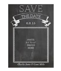 free save the date cards chalkboard save the date cards chicfetti