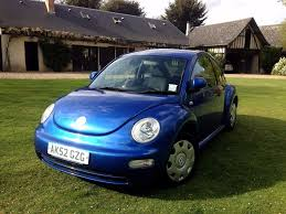 volkswagen bug blue volkswagen beetle blue 1 6l 2002 39500 miles in kensington