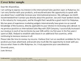 Sales Resume Cover Letter Examples by Top 5 Sales Consultant Cover Letter Samples