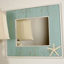 Beachy Bathroom Mirrors Recycled Wood Mirror I D To Make Something Like This With