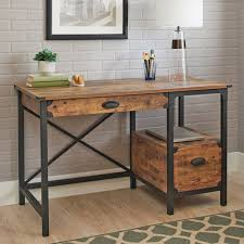 rustic pine writing desk better homes and gardens rustic country desk weathered pine finish