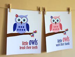 Walmart Kids Bathroom Accessories Appealing Images About Kids Bathroom Owl Set Target